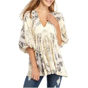 free people Girl tank tunic. NWT Small